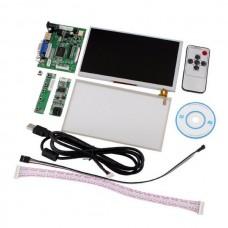7 pouces ACL LCD TFT Ecran tactile avec module HDMI VGA vidéo