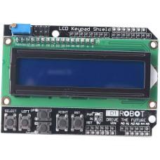 LCD1602 Écran LCD Blindage Rétroéclairage Bleu