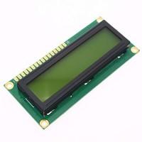LCD1602 Rétroéclairage vert jaune