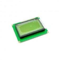 128x64, Afficheur graphique LCD SPI 128x64 pixels - Jaune
