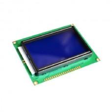 128x64, Afficheur graphique LCD SPI 128x64 pixels - Bleu
