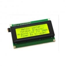 20x4, Afficheur LCD 20×4/I2C jaune
